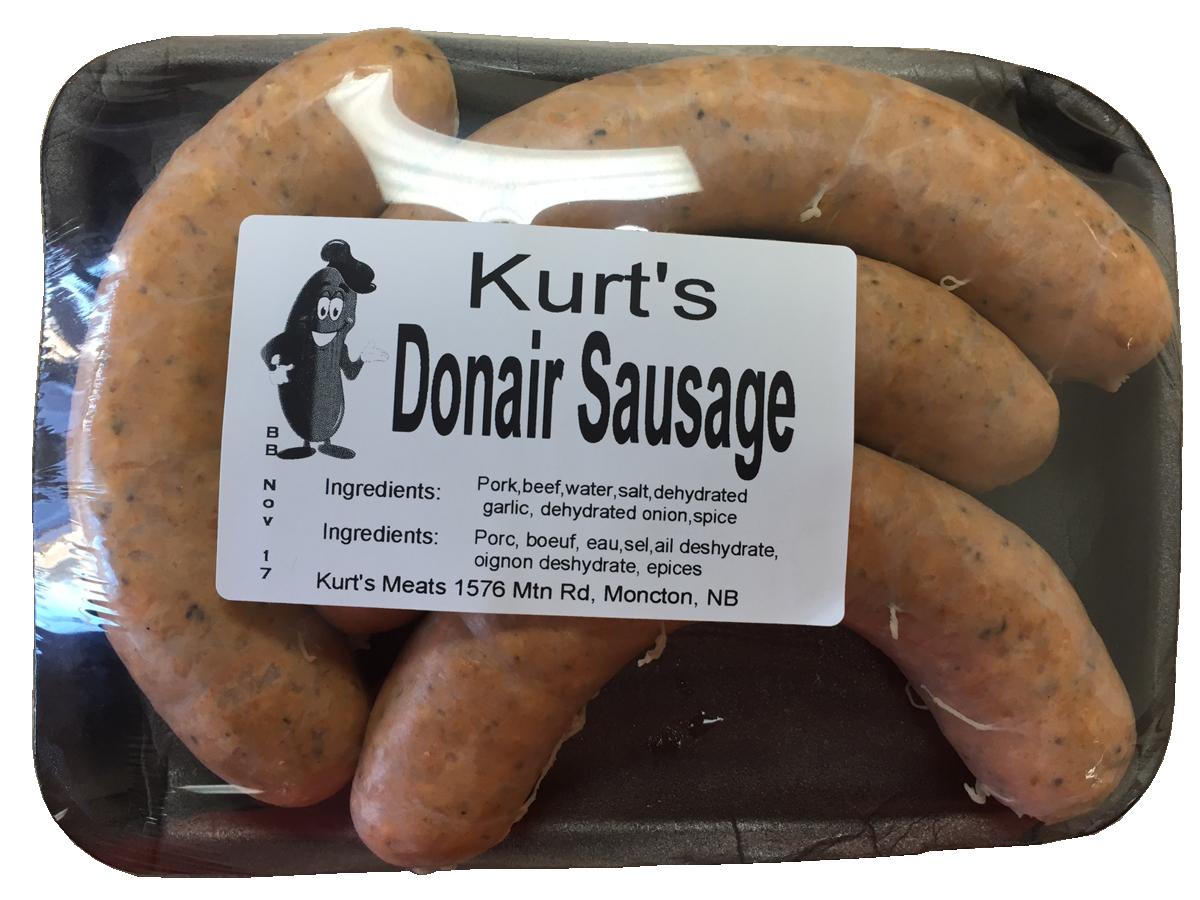 Donair Sausages